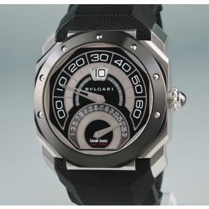 e3cbaf7ab275 3年保証 ブルガリ 時計 オクト バイレトロ ジェンタ BGO43BSCVDBR 自動巻 メンズ 2405001249805中古