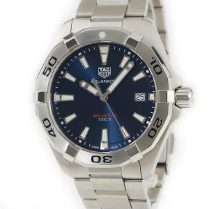 タグホイヤー Tag Heuer アクアレーサー WBD1112.BA0928 ブルー メンズ 腕時計 クオーツ ブルー 中古|ibe7171