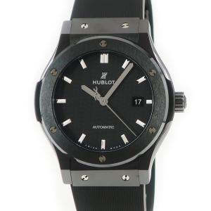 ウブロ HUBLOT クラシックフュージョン ブラックマジック 542.CM.1771.RX メンズ 腕時計 自動巻き ブラック 中古|ibe7171