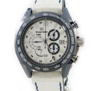グランドセイコー Grand Seiko スプリングドライブ GTR SBGC229 9R96−0AF0 限定200本 メンズ 腕時計 自動巻き シルバー 中古|ibe7171