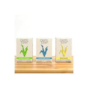 クインポップコーン クインポップコーン オリーブオイル&ハーブス 3箱 @送料無料 食品