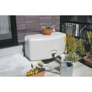 【助成金制度対応店】 タキロン 雨水貯留タンク 雨音くんミニ80L 家庭用  雨水利用