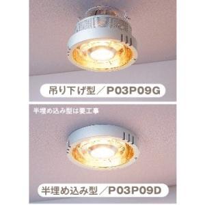 PAAG ポカピカ ヒーター一体型天井照明 半埋め込み型 / P03P09D