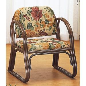 ラタン籐家具 籐思いやり座椅子 ミドルタイプ S-109B 籐家具 ラタン家具 座椅子 敬老の集い ※代引不可|ibepara