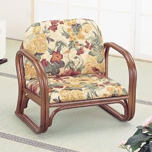 ラタン籐家具 籐思いやり座椅子 ロータイプ S-110B 籐家具 ラタン家具 座椅子 敬老の集い ※代引不可|ibepara