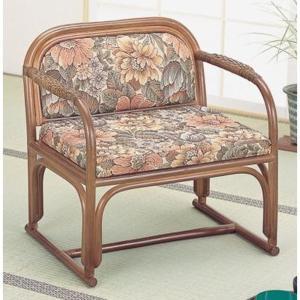 ラタン籐家具 籐便利座椅子 S-112B 籐家具 ラタン家具 座椅子 敬老の集い ※代引不可|ibepara