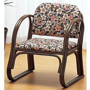 ラタン籐家具 籐思いやり座椅子 ミドルタイプ S-212B 籐家具 ラタン家具 座椅子 敬老の集い ※代引不可|ibepara