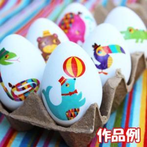 イースターエッグ デザインたまご お絵かきたまご 10個以上販売 手作りイースターエッグ イースターエッグ プラスチック 装飾|ibepara|05