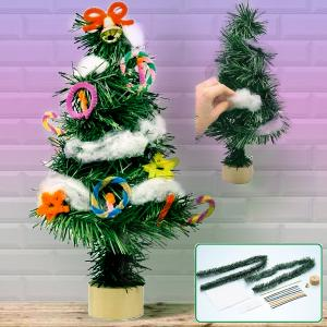 クリスマスツリー 手作りキット 工作キット 卓上 手づくり ツリー 手作り