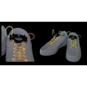 光る靴ひも フルカラー 光る LED|ibepara