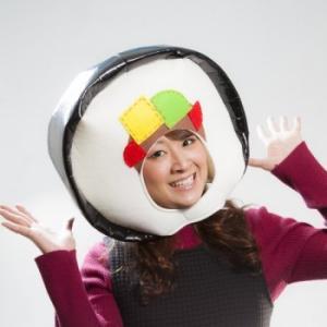 節分 帽子 のり巻き 巻き寿司キャップ のり巻き 帽子 恵方巻 ibepara