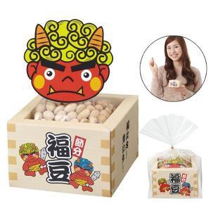 節分福豆枡パック(30g入)1個135円 50個販売 節分 定番 豆まき 代引不可|ibepara
