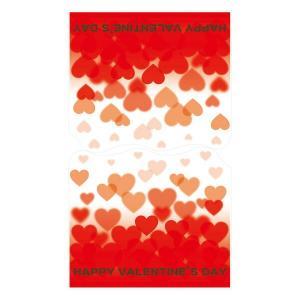 バレンタイン ディスプレイ ウィンドウ装飾 ウィンドウステッカー ハート縦長タイプ 60×100cm 自己吸着タイプ|ibepara