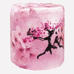 トイレットペーパー 桜 100個販売 トイレットロール 2329 ノベルティ 販促品 景品