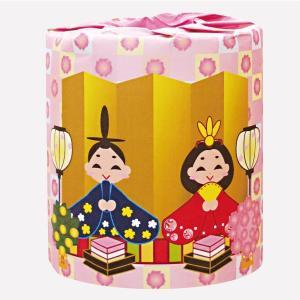 トイレットペーパー ひなまつり 100個販売 ひな祭り 雛祭り トイレットロール 2363 ノベルティ 販促品 景品