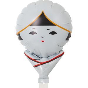 風船 パーティー用バルーン メッセージ柄 こけし花嫁 風船 10枚販売 ibepara