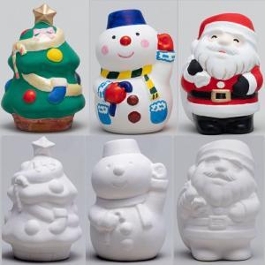 お絵かき クリスマス 貯金箱