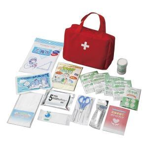 防災セット 救急バッグセット19点 KB19-400 救護 非常時 救急箱 緊急 地震 火事 台風 防災セット 災害|ibepara