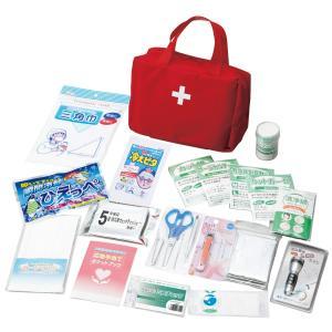 防災セット 救急バッグセット21点 KB21-500 救護 非常時 救急箱 緊急 地震 火事 台風 防災セット 災害|ibepara