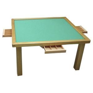 麻雀台 麻雀卓 組み立て式 麻雀台 木製座卓 麻雀卓 なごみ2 引出付 麻雀卓 ibepara