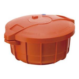 マイヤー 電子レンジ圧力鍋2.3L パンプキンオレンジ MPC-2.3PO 新生活応援 電子レンジ専用調理鍋|ibepara