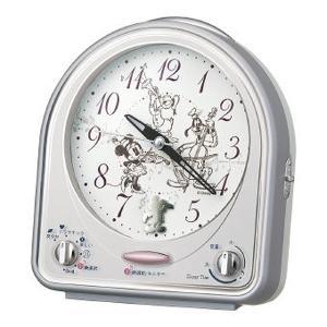 ディズニー タイム 31曲メロディー目覚まし時計 FD464S キャラクター ディズニー 時計|ibepara