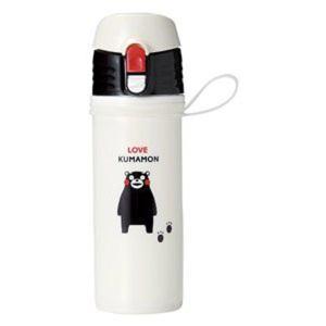 KUMAMON.直飲みマイボトル500ml 60個販売 キャラクター雑貨 ノベルティ 販促品|ibepara