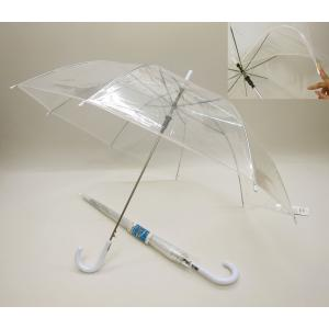 ビニール傘 60cm ビニール 透明ジャンプ傘 60本販売 クリアー コンビニ傘 ビニ傘 ※代引不可