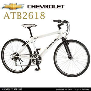 CHEVROLET(シボレー) シマノ18段変速 26インチ マウンテンバイク CHEVY ATB2618|ibf-shop