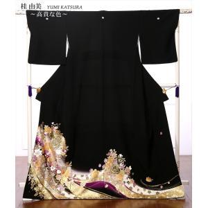 桂由美 YUMI KATSURA 留袖 レンタル 黒留袖 フルセット 結婚式 江戸妻 高貴な色 母親