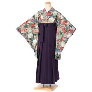 レンタル 袴 セット(AG117)大人 女 レディース 袴セット 卒業式 着物レンタル ハカマ はか...