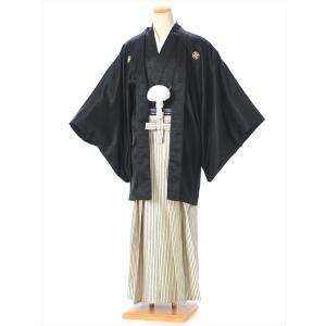紋付袴 レンタル(1月/成人式)8SAF-13 紋付き 羽織袴レンタル 男性 紳士 着物 成人式 結...