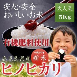 米 ひのひかり 鹿児島産 ヒノヒカリ 5kg 平成29年度 ...