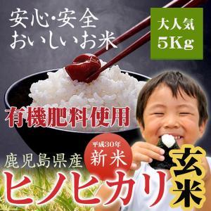 玄米 ひのひかり 鹿児島産 ヒノヒカリ 5kg 平成29年産...