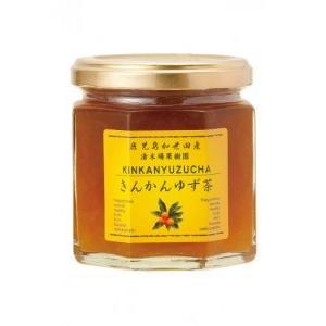 きんかんゆず茶 ゆず茶 瓶 国産 190g マーマレード ジャム 金柑 柚子 ibusukiya