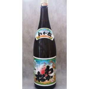 わか松 芋焼酎 鹿児島 若松酒造 25度 1800ml|ibusukiya