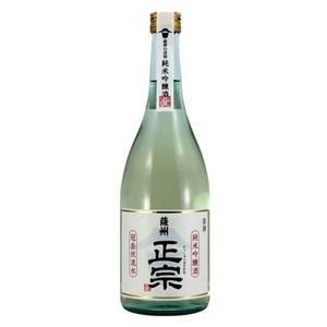薩州正宗 日本酒 純米吟醸酒 鹿児島 薩摩金山蔵 15度 720ml|ibusukiya