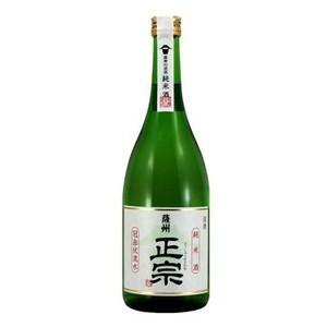 薩州正宗 日本酒 純米酒 鹿児島 薩摩金山蔵 15度 720ml|ibusukiya