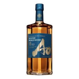 サントリー ワールドウイスキー 碧 アオ Ao 43度 700ml 数量限定 SUNTORY WORLD WHISKY wisky_ao|ibusukiya