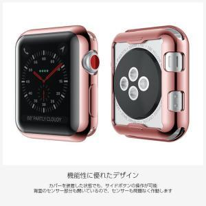 Apple watch ケース TPU シリーズ 4 5 series 3 2 アップルウォッチ カバー 44mm 40mm 42mm 38mm 耐衝撃 アップルウォッチ ケース Applewatch フルカバー|icaca|05