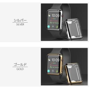Apple watch ケース TPU シリーズ 4 5 series 3 2 アップルウォッチ カバー 44mm 40mm 42mm 38mm 耐衝撃 アップルウォッチ ケース Applewatch フルカバー|icaca|07