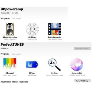 dBpoweramp  R17.5  & PerfectTUNES R3.0 セット MAC (Intel & M1 Native) Big Sur対応版|icat