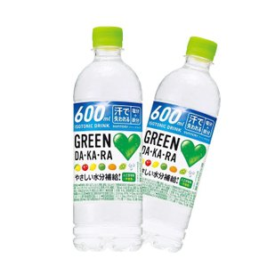 サントリ− GREEN DA・KA・RA(グリーンダカラ) 500mlPET 24本入
