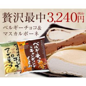 贅沢最中ベルギーチョコ&マスカルポーネ12個セット(ラッピング付き)(送料込)(バレンタイン・ホワイトデー)|ice-ouan
