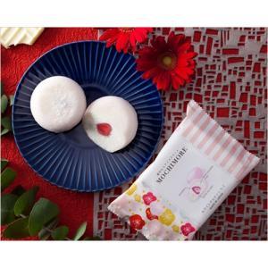 MOCHI MORE ホワイトチョコと苺(和と洋の素材をミックスした創作もちアイス)|ice-ouan|02