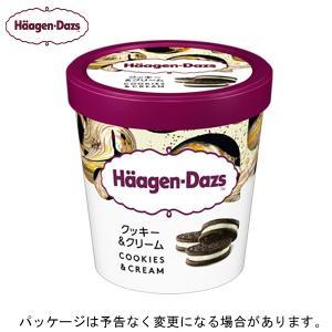 【HD】 ハーゲンダッツ   パイント クッキー&クリーム 473ml×8個