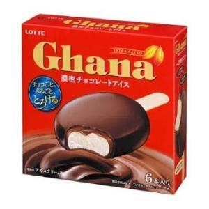 【ロッテ】アイスクリーム ガーナ 濃密 チョコレートアイス 55ml×6本×8箱