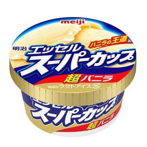 【明治】アイスクリーム エッセルスーパーカップ 超バニラ 200ml×24個