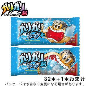 (本州送一部料無料)赤城乳業 ガリガリ君ソーダ (31+1)32入の商品画像|ナビ