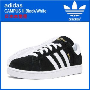 アディダス adidas キャンパス 2 Black/Whi...